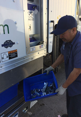 OC Mobile Hard Drive Shredding Services
